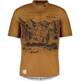 Maloja SerlasM. Bike Jersey Shortsleeve Men brown